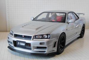 京商【ニスモ R34 GT-R Z-tune】
