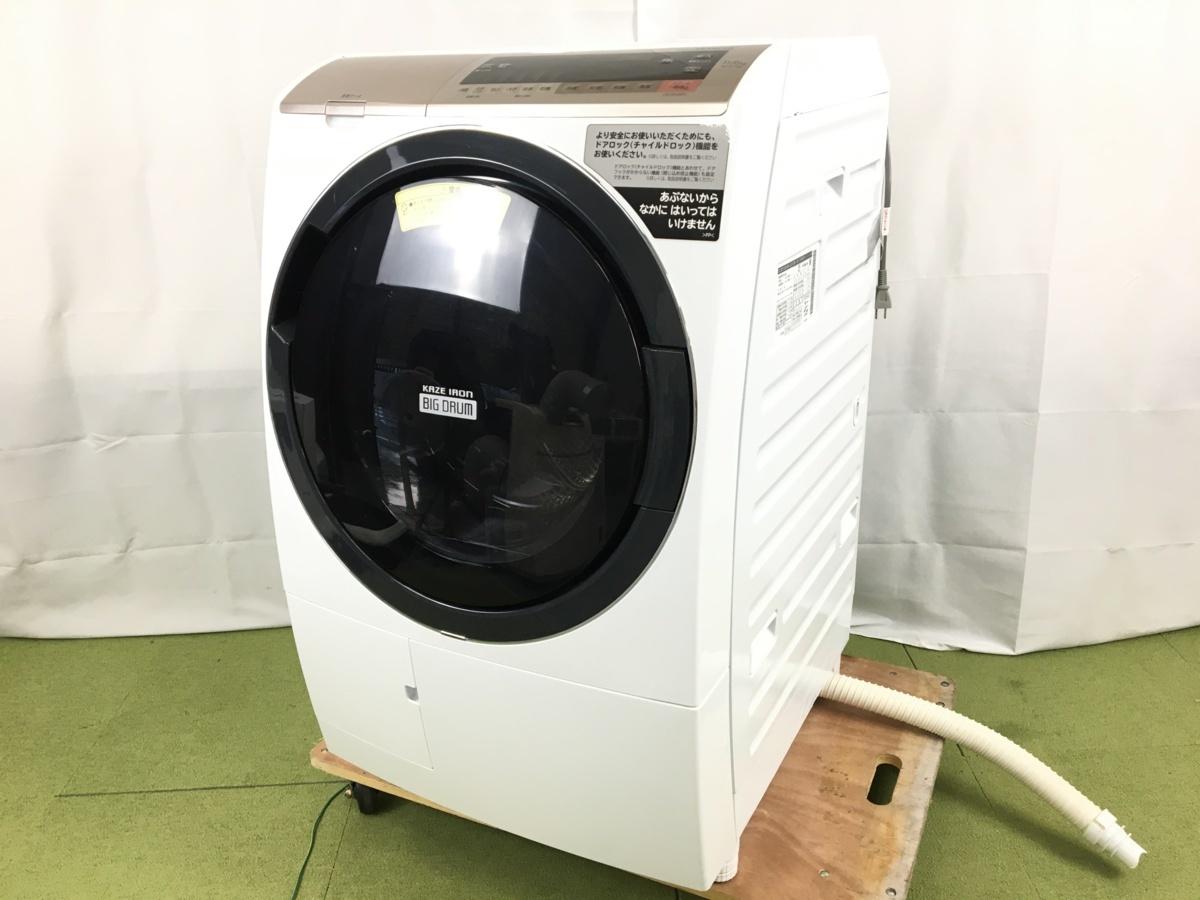 ドラム式洗濯機 BD-SV110CR